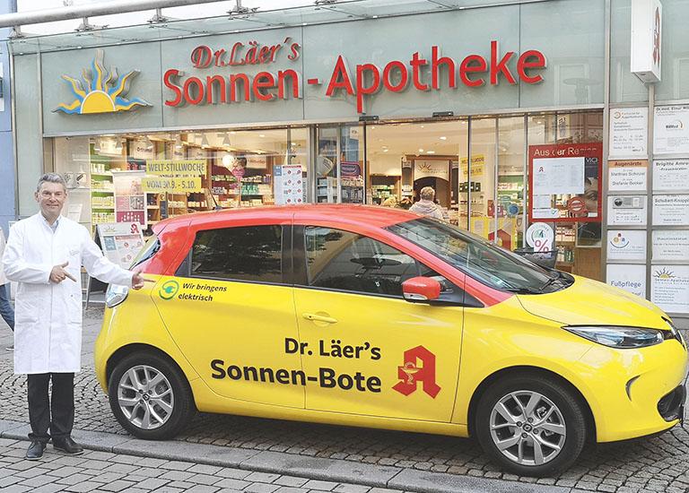 FIREFLY | MARKETING, DESIGN & MEDIEN, WEBDESIGN, SEO, ONLINE-SHOP, GRAFIKDESIGN | Sonnen-Apotheke Hildesheim